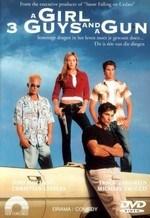 دانلود زیرنویس فارسی A Girl, Three Guys, and a Gun                          2001