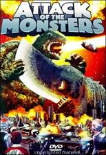 دانلود زیرنویس فارسی Attack of the Monsters (Gamera tai daiakuju Giron)                          1969